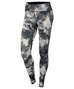 spodnie do biegania damskie NIKE POWER  ESSENTIAL PRINT TIGHT / 848004-010