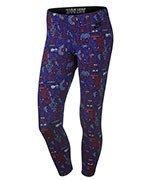 spodnie sportowe damskie 3/4 NIKE LEG-A-SEE CROPPED LEGGING / 777558-455