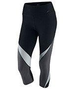spodnie sportowe damskie 3/4 NIKE LEGENDARY CAPRI FABRIC TWIST / 725080-011
