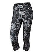 spodnie sportowe damskie 3/4 NIKE POWER TRAINING CAPRI / 881522-012