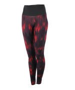 spodnie sportowe damskie ADIDAS HIGH-RISE LONG TIGHT ALLOVER PRINTED / AY6180
