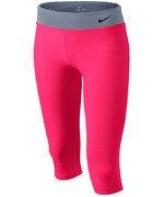 spodnie sportowe dziewczęce NIKE YOUNG ATHLETES LEGEND TIGHT CAPRI / 522087-639