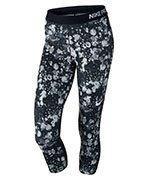 spodnie termoaktywne damskie 3/4 NIKE PRO COOL CAPRI / 831996-010