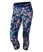 spodnie termoaktywne damskie 3/4 NIKE PRO COOL CAPRI / 831996-429