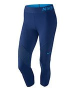spodnie termoaktywne damskie 3/4 NIKE PRO HYPERCOOL CAPRI / 725614-456
