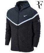 sweter tenisowy męski NIKE PREMIER SWEATER Roger Federer US Open 2014 / 619029-010