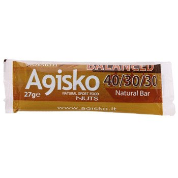 baton AGISKO BALANCED 27g - smak orzechowy