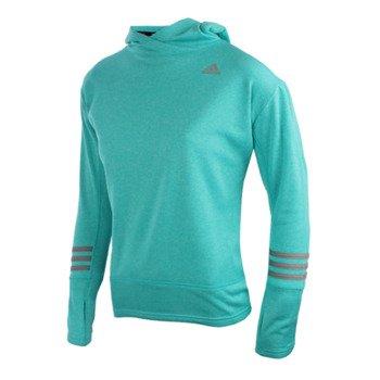 bluza do biegania damska ADIDAS RESPONSE ICON HOODIE / AO1536