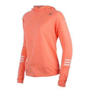 bluza do biegania damska ADIDAS RESPONSE ICON HOODIE / AO1537