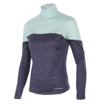 bluza do biegania damska BROOKS ESSENTIAL LONGSLEEVE 1/2 ZIP III / 220776539