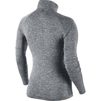 bluza do biegania damska NIKE DRI-FIT KNIT 1/2 ZIP / 719469-010