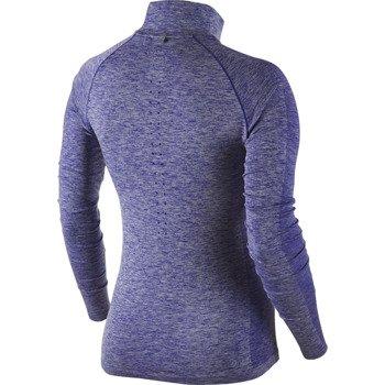 bluza do biegania damska NIKE DRI-FIT KNIT 1/2 ZIP / 719469-457