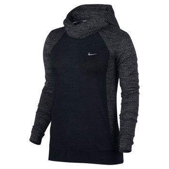 bluza do biegania damska NIKE DRY HOODIE CITY WOOL / 802931-010