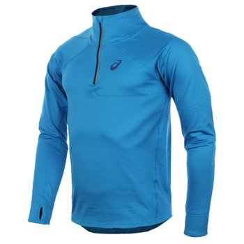 bluza do biegania męska ASICS WINTER 1/2 ZIP TOP / 114533-8070