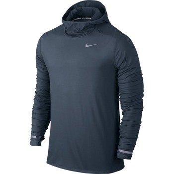 bluza do biegania męska NIKE DRI-FIT ELEMENT HOODIE / 683638-460
