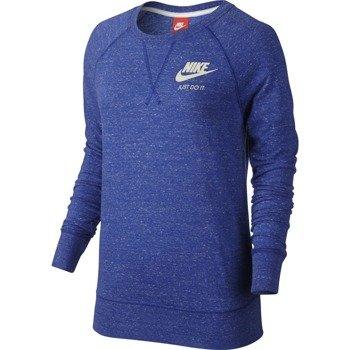 bluza sportowa damska NIKE GYM VINTAGE CREW / 726055-455