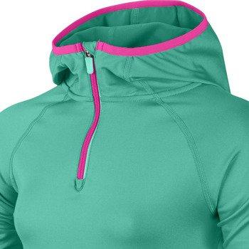 bluza sportowa dziewczęca NIKE PRO HYPERWARM 3.0 1/2 ZIP / 622110-317