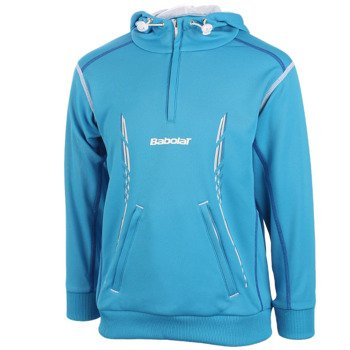 bluza tenisowa chłopięca BABOLAT SWEAT MATCH PERFORMANCE / 42S1450-136
