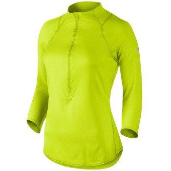 bluza tenisowa damska NIKE BASELINE 1/2 ZIP TOP / 546075-382