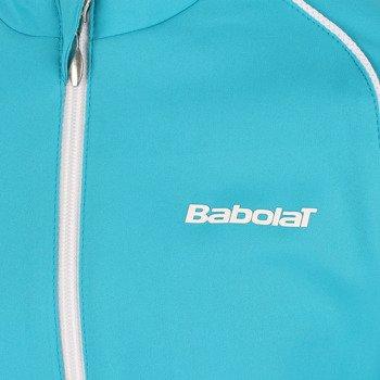 bluza tenisowa dziewczęca BABOLAT TRACKSUIT JACKET MATCH CORE / 42S1428-111