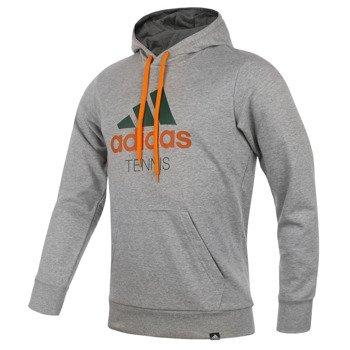 bluza tenisowa męska ADIDAS TENNIS SEQUENTIALS LINEAR HOODY / S16830
