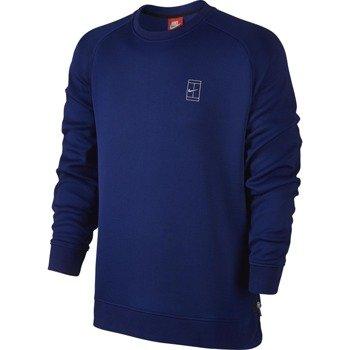 bluza tenisowa męska NIKE COURT FLEECE CREW / 744010-455