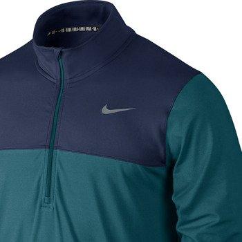 bluza tenisowa męska NIKE HALF-ZIP LONG SLEEVE TOP / 596599-320