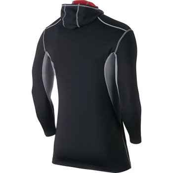 bluza termoaktywna męska NIKE PRO COMBAT HYPERWARM FITTED DRI-FIT MAX ATHLETE HOODED / 624878-011