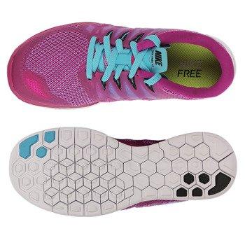 buty do biegania damskie NIKE FREE 5.0 / 642199-504