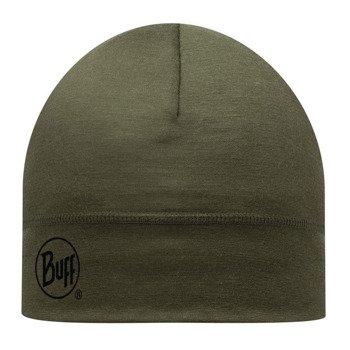 czapka do biegania BUFF MERINO WOOL HAT BUFF SOLID CEDAR / 111162.847.10