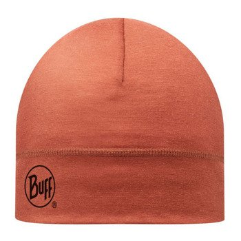 czapka do biegania BUFF MERINO WOOL HAT BUFF SOLID ROOIBOS TEA / 111162.214.10