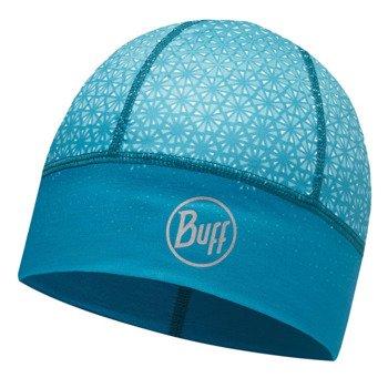 czapka do biegania BUFF XDCS TECH HAT BUFF HAK TURQUOISE / 113191.789.10