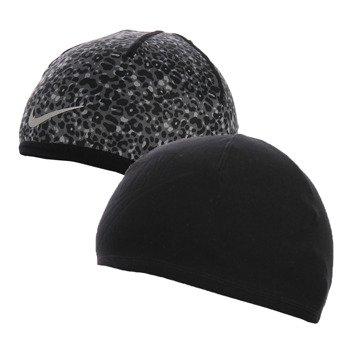 czapka do biegania damska dwustronna NIKE RUN LOTUS BEANIE / 800690-010