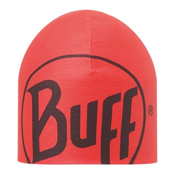 czapka dwustronna do biegania BUFF COOLMAX REVERSIBLE HAT BUFF CRASH FIERY RED / 111506.409