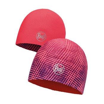czapka dwustronna do biegania BUFF MICROFIBER REVERSIBLE HAT BUFF R-XTREM PINK / 113165.522.10