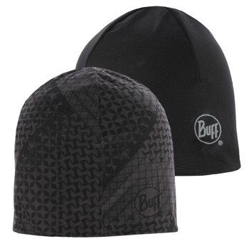 czapka dwustronna do biegania BUFF MICROFIBER REVERSIBLE HAT BUFF TANJU / 108912.901.10