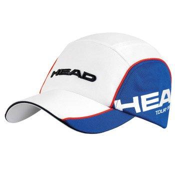 czapka tenisowa HEAD TOUR TEAM FUNCTION CAP / 287004 WH/BL