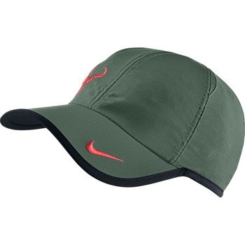 czapka tenisowa NIKE RAFA BULL LOGO CAP / 398224-321