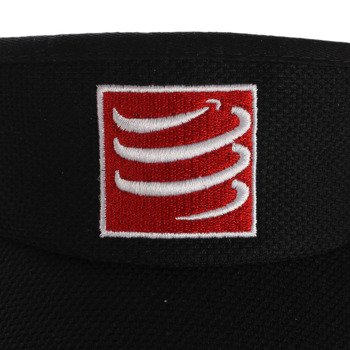daszek biegowy COMPRESSPORT VISIOR CAP black / RACS-0019