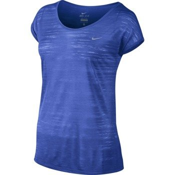 koszulka do biegania damska NIKE DRI FIT COOL BREEZE SHORTSLEEVE TOP / 644710-480