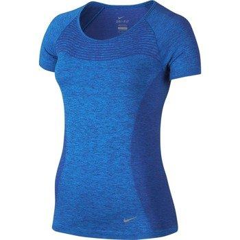 koszulka do biegania damska NIKE DRI-FIT KNIT / 718569-459
