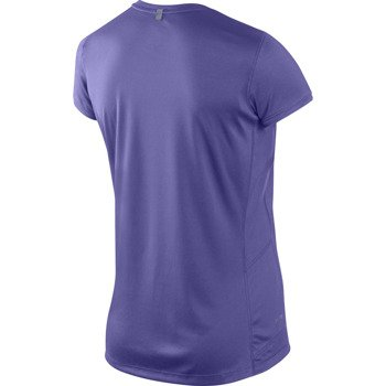 koszulka do biegania damska NIKE MILER SHORT SLEEVE CREW TOP / 519829-553