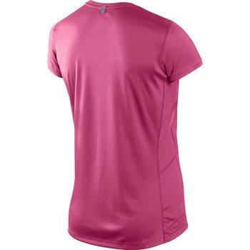 koszulka do biegania damska NIKE MILER SHORT SLEEVE CREW TOP / 519829-639