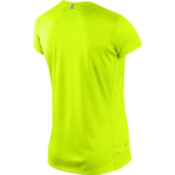 koszulka do biegania damska NIKE MILER SHORT SLEEVE CREW TOP / 519829-702