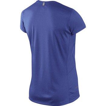 koszulka do biegania damska NIKE MILER SHORTSLEEVE CREW TOP / 519829-555