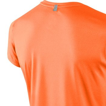 koszulka do biegania damska NIKE MILER SHORTSLEEVE CREW TOP / 519829-824