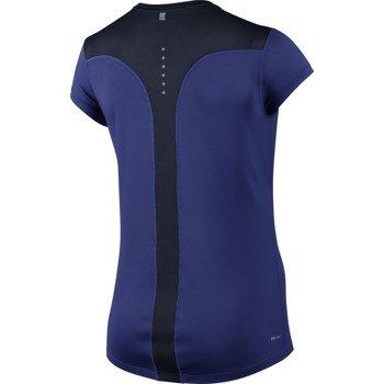 koszulka do biegania damska NIKE RACER SHORT SLEEVE / 645443-458