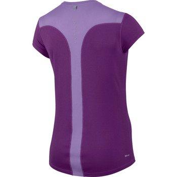 koszulka do biegania damska NIKE RACER SHORT SLEEVE / 645443-556