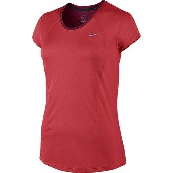 koszulka do biegania damska NIKE RACER SHORT SLEEVE / 645443-696