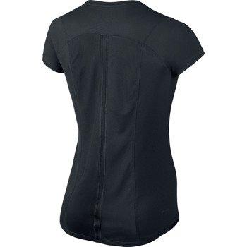 koszulka do biegania damska NIKE RACER SHORTSLEEVE TOP / 520276-011